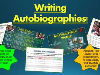 Writing Autobiographies!