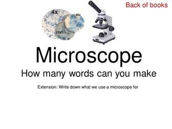 Microscopes (Using a microscope)