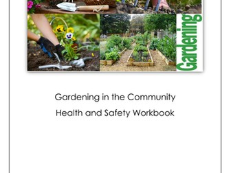 Gardening Health and Safety Workbook
