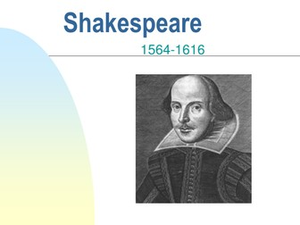 Introduction to Shakespeare PPT