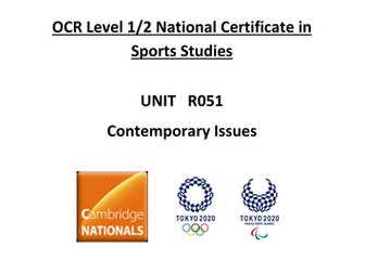 OCR National Certificate in Sports Studies R051 teacher booklet LO3