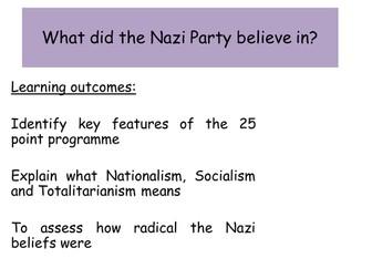 Nazi ideas