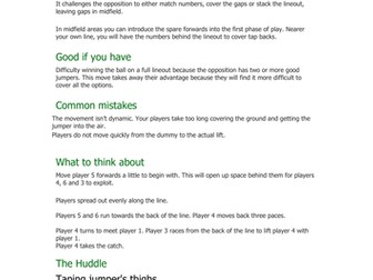 Rugby - Teaching Activities