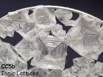 Edexcel CC5b Ionic Lattices