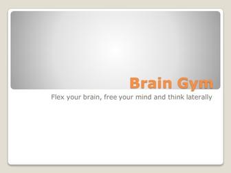 Brain Gym - tutor time