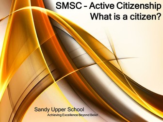 SMSC Term 2 Taster
