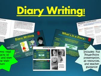 Diary Writing!