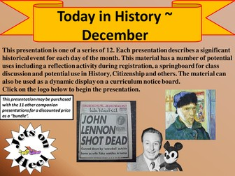 On a December History