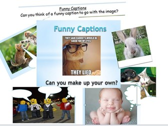Funny Captions and Word Quizzes Starter Pack