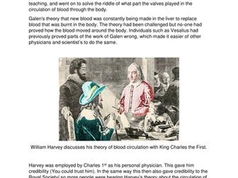 Medicine Through Time: William Harvey  ( GCSE - Edexcel)