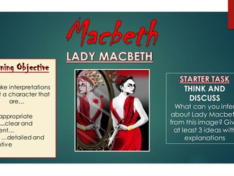 Macbeth: Lady Macbeth