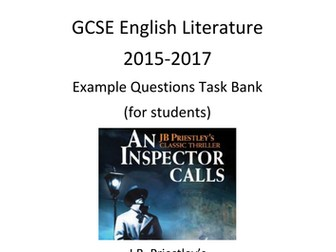 An Inspector Calls Revision Pack