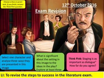 An Inspector Calls Exam Revision