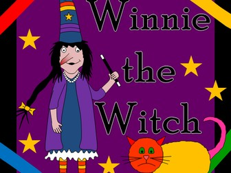 Winnie the Witch story resource pack- Halloween