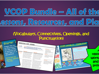 VCOP Bundle - All of the Lessons, Resources, and Plans!