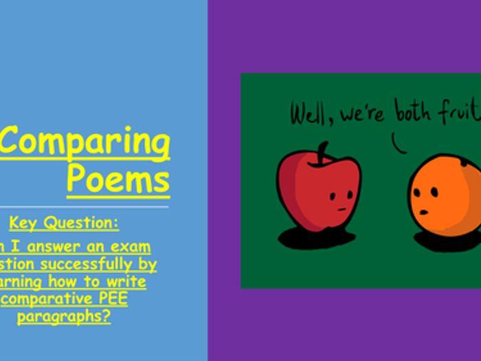 English - Comparing Poems: English Exam Tips