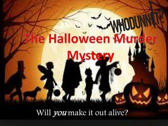 Halloween Special - The Halloween Murder Mystery – Creative Writing Story