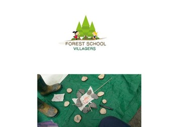 Forest school villagers pack