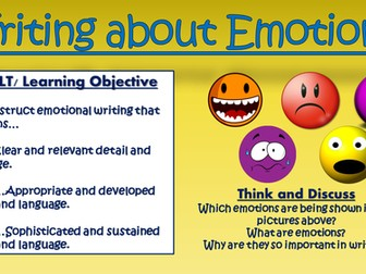 Writing about Emotions!