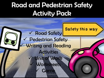Road Safety Activity Pack for EYFS/KS1