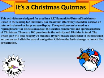 Ultimate Christmas Quizmas