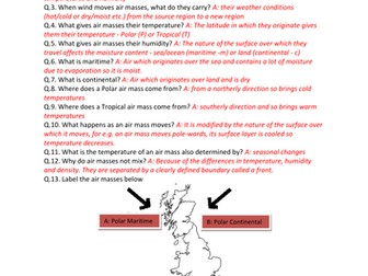 GCSE CCEA Geography Unit 1:B: Our Changing Weather and Climate COMPLETE Revision