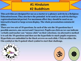 The Hinu and Buddhist Challenge
