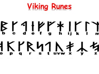 Viking Rune activities