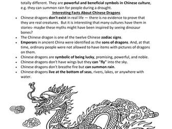 Ancient China Dragons and Dynasties