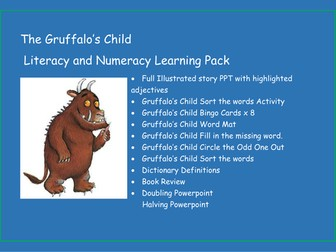 The Gruffalo's Child - Literacy and Numeracy Learning Pack