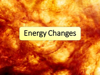 New AQA GCSE Chemistry Energy Changes / Bond Energy Lesson