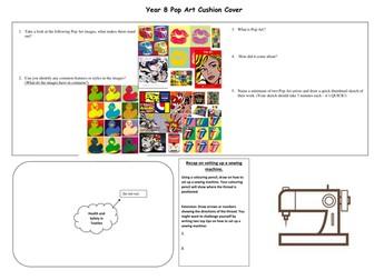 Pop Art Worksheet