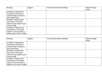 Iteration- for the 9 to 1 GCSE Higher course