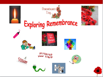 Exploring Remembrance Day
