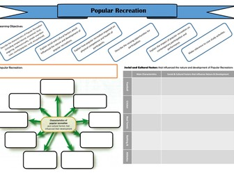 A2 PE Historical - Popular Recreation Revision Board