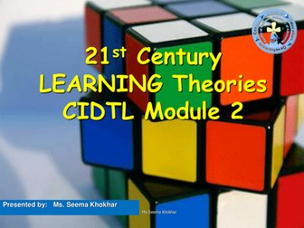 learning theories Specially for Teaching Diploma
