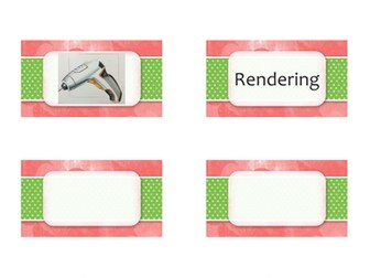 Types of drawing methods card sort