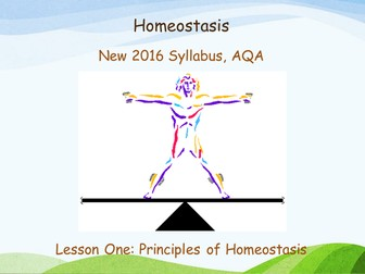 New AQA (2016) Year 2 Biology (A2) - Principles of Homeostasis- Flipped Learning