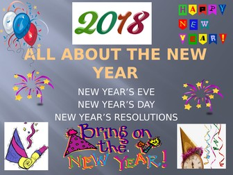 All about the New Year - New Year's Eve, New Year's Day and making New Year's Resolutions