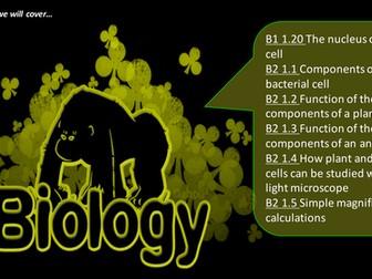 GCSE Biology Cells