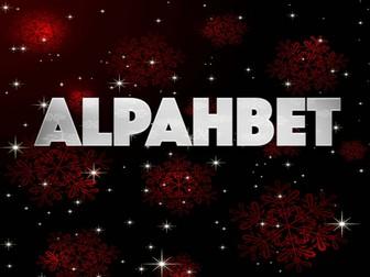 The Alphabet-Silver Sparkle