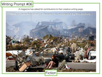 9-1 GCSE Writing Prompts 6-10: pictures for narrative writing