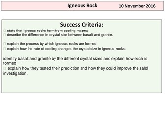 Igneous Rock