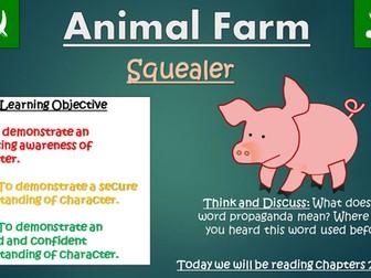 Animal Farm: Squealer (Double Lesson!)