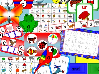 Early Years Literacy pack- phonics, alphabet, Letters and Sounds
