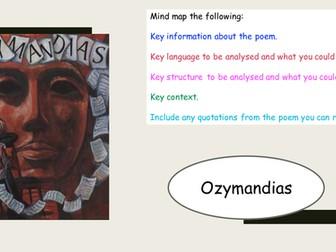 Ozymandias Revision - AQA New Spec
