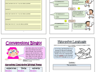 Year 5 Guided Reading Comprehension Activities Booklet! (Aligned with the New Curriculum)