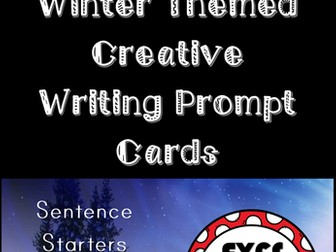 Winter Creative Writing Story Prompts for EYFS and KS1