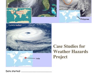 Weather hazards project for AQA 1-9 Specification