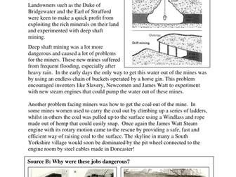 Industrial Revolution: Coal Mining